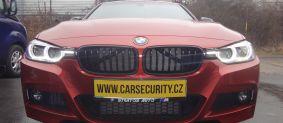 BMW 3 instalace zámku volantu Zeder