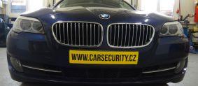 BMW 5 montáž zámku volantu Zeder