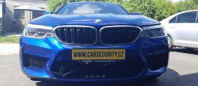 BMW M5 montáž vyhledávacího zařízení