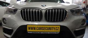 BMW X1 montáž zámku volantu Zeder