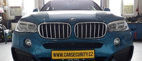 BMW X6 4.0d instalace autoalarmu Jablotron CA-2103