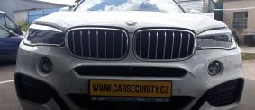 BMW X6 instalace autoalarmu Jablotron CA-2103