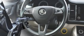 Construct Steering - zámek volantu