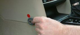Elektromechanický zámek pedálu plynu Construct