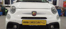 Fiat 500 Abarth instalace elektronického zabezpečení