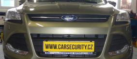 Ford Kuga montáž zámku volantu Zeder lock
