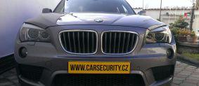 BMW X1 montáž autoalarmu Jablotron Athos CA-1803