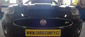 Jaguar XKR montáž elektronického zabezpečení