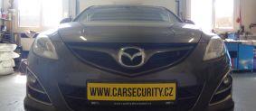 Mazda 6 instalace zámku volantu Zeder + VIN