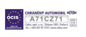 Pískování skel kódem SBZ Ocis s registrací CEBIA