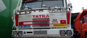 Tatra 815 zabezpečení závodního speciálu Dakar