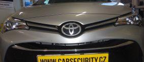 Toyota Avensis montáž elektronického zabezpečení