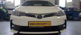 Toyota Corolla montáž zámku řazení Mister lock