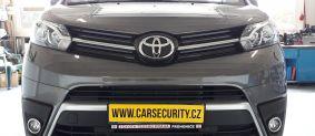 Toyota Proace instalace autolarmu Jablotron