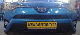 Toyota Rav 4 hybrid montáž autoalarmu Jablotron