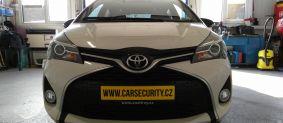 Toyota Yaris montáž zámku řazení Construct