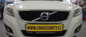 Volvo C70 montáž ONI Střežení