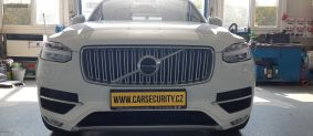 Volvo XC90 montáž autoalarmu Jablotron CA-2103 + Viofo A129 DUO