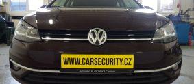 VW Golf VII instalace autoalarmu Jablotron CA-2103