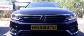 VW Passat Alltrack montáž autoalarmu Jablotron CA-2103