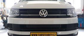 VW T6 California instalace autoalarmu Jablotron CA-2103