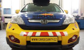 Honda CR-V zabezpečení doprovodného vozidla na Dakar
