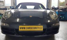 Porsche 911 Carrera montáž Jablotron CA-340