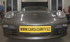 Porsche Boxster montáž elektronického zabezpečení ONI Střežení