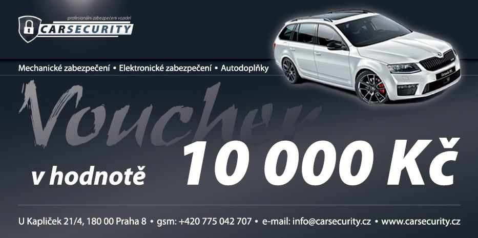 Voucher 10000Kč