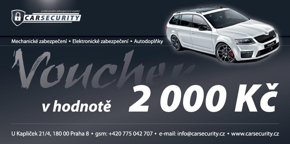 Voucher 2000Kč