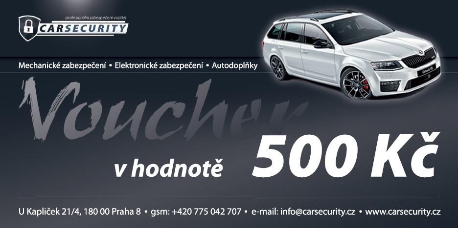 Voucher 500Kč